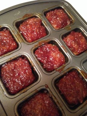 Mini Meatloaf Squares 1
