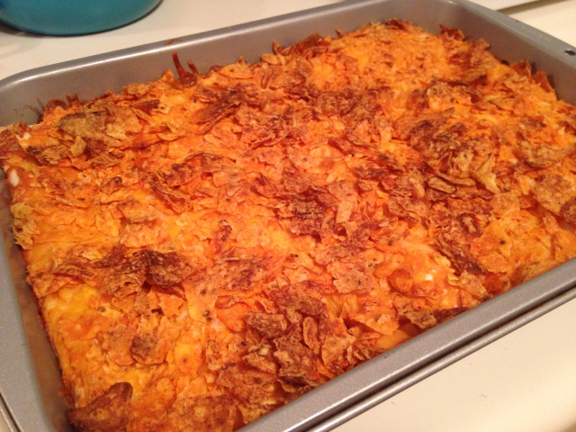 Doritos Chicken Enchiladas